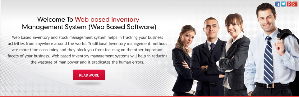Web Based Inventory